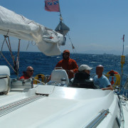 Trafalgar Sailing Gibraltar on course 3